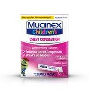 Mucinex® Children's Chest Congestion Expectorant Mini-Melts, Bubblegum Flavor