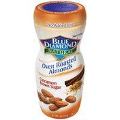 Blue Diamond Almonds Oven Roasted Cinnamon Brown Sugar Almonds