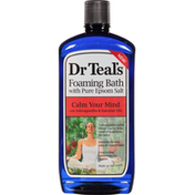 Dr. Teal's Foaming Bath, with Pure Epsom Salt, Calm Your Mind