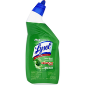 Lysol Toilet Bowl Cleaner, with Bleach