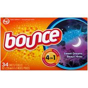 Bounce Sheets Sweet Dreams Fabric Softener