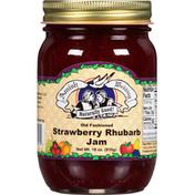 Amish Wedding Jam, Strawberry Rhubarb, Old Fashioned