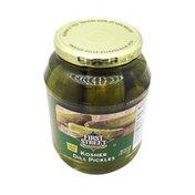 First Street Kosher Dill Pickles