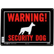 Hillman Group Security Dog Warning Sign