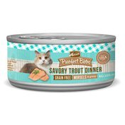 Purrfect Bistro Grain Free Savory Trout Dinner Morsels In Gravy Natural Food For Cats