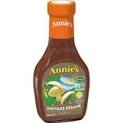 Annie's Natural Shiitake Sesame Salad Dressing, Non-GMO