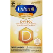 Enfamil Vitamin D, Breastfed Infant