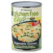 Gluten Free Cafe Soup, Vegetable Quinoa