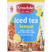 Krasdale Iced Tea, Lemon