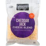 Essential Everyday Cheese Blend, Cheddar Jack, Fancy Cut
