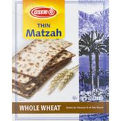 Osem Thin Matzah Whole Wheat