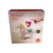 Kid O Myland Horse Girl Sound Interactive Learning Toy