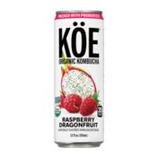 KÖE Organic Kombucha Raspberry Dragonfruit