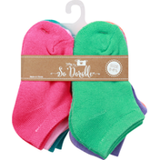 So Dorable Socks with Gripper, 5 to 6-1/2
