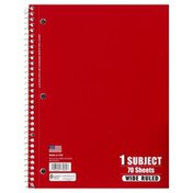 Norcom Notebook, Wide Ruled, 70 Sheets
