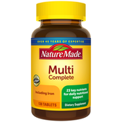 Nature Made Multivitamin Complete Tablets with Iron