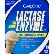 CareOne Dairy Fast Acting Digestive Supplement