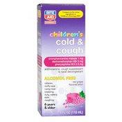 Rite Aid Pharmacy Cold & Cough DM, Children's, Elixir, Red Grape Flavor, 4 fl oz (118 ml)