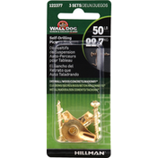 Hillman Group Picture Hangers, Self-Drilling