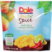 Dole Fruit n' Spice Chili Lime Mango Chunks