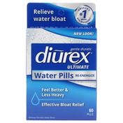 Diurex Ultimate, Maximum Strength Re-Energizing Water Pills