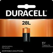 Duracell Battery, Alkaline, 28L