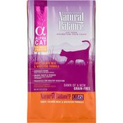 Natural Balance Alpha Cat Balanced Protein Trout, Salmon Meal & Whitefish Formula Grain Free Dry Cat Food
