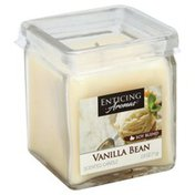 Enticing Aromas Scented Candle, Vanilla Bean, Soy Blend
