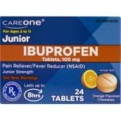 CareOne Junior 100 mg Ibuprofen Chewables Orange