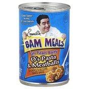 Bam Meals O's Pasta & Meatballs