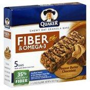 Quaker Granola Bars, Chewy Oat, Peanut Butter Chocolate