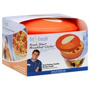 Fit & Fresh Fresh Start Breakfast Chiller, with Removable Spoon & Ice Pack