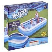 Bestway Pool, Family, Blue, Rectangular