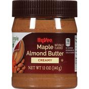 Hy-Vee Almond Butter, Maple, Creamy