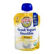 Earth's Best Organic Stage 2 Greek Yogurt Smoothie Banana