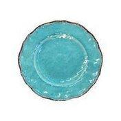 9″ Melamine Turquoise Le Cadeaux Antiqua Salad Plate