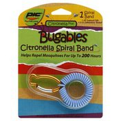 Pic Bugables, Citronella Spiral Band, Blister Pack