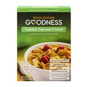 Wholesome Goodness Toasted Oatmeal Crunch