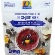 O Organics Organic Fruit + Veggie Blend for Smoothies, Blueberry Blitz