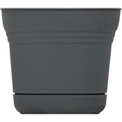 Bloem Planter, Saturn Charcoal, 5 Inches