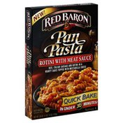 Red Baron Rotini with Meat Sauce