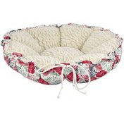 """Harmony 20"""" Floral Cat Bed"""