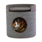 You & Me Carpet Cat Condo With Cushion