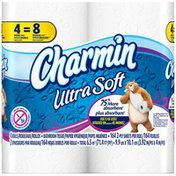 Charmin Ultra Soft Double Rolls  Toilet Paper