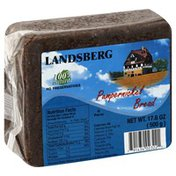 Landsberg Bread, Pumpernickel, Wrapper