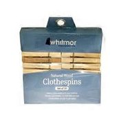 Whitmor Wooden Clothes Pins