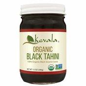 Kevala Organic Black Tahini, Glass Jar