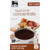 Food Lion Beef Liquid Broth – Concentrate