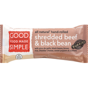Good Food Made Simple Burrito, Shredded Beef & Black Bean