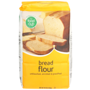 Food Club Unbleached, Enriched & Presifted Bread Flour